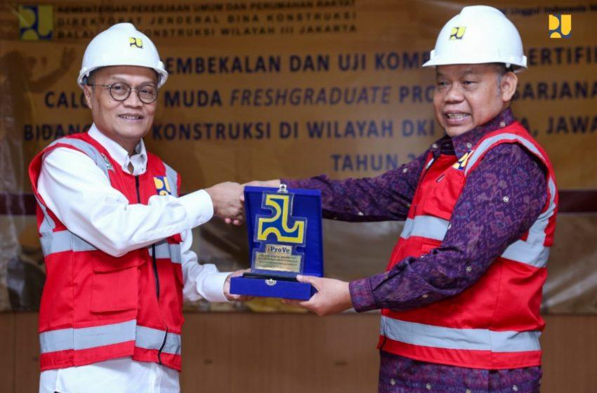 Kementerian PUPR Siapkan Tenaga Kontruksi Terlatih