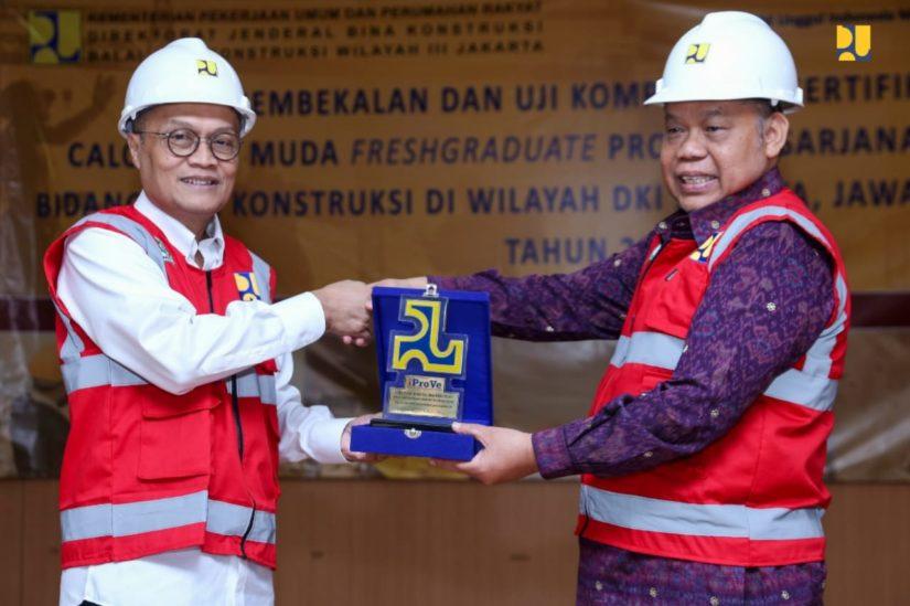 Direktur Jenderal Bina Konstruksi Trisasongko Widianto. (Foto: PUPR)