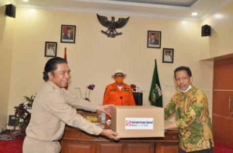 Sinar Mas Land Berikan Bantuan Alat Pelindung bagi Petugas Medis di Banten