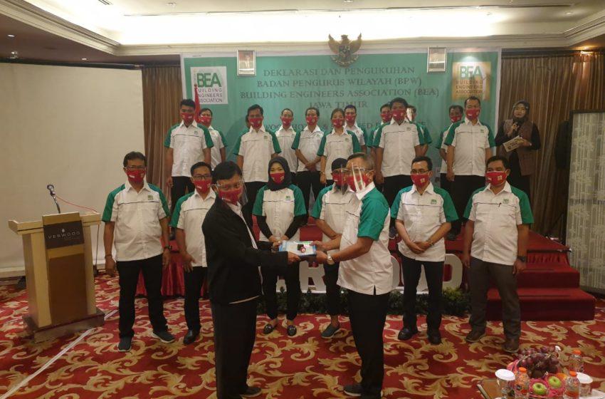 Mardi Utomo Deklarasikan DPW BEA Jatim