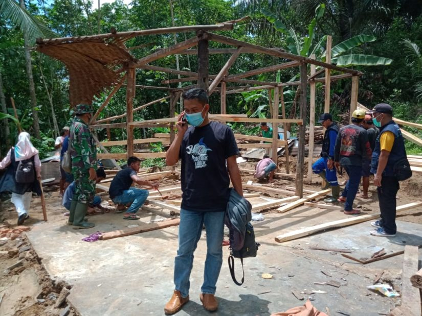 Program bedah rumah diterapkan bagi warga tak mampu. (Foto: Istimewa)