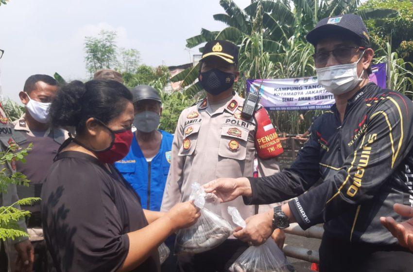 Kampung Tangguh Jaya RW 06 Sukapura Panen Ikan Lele