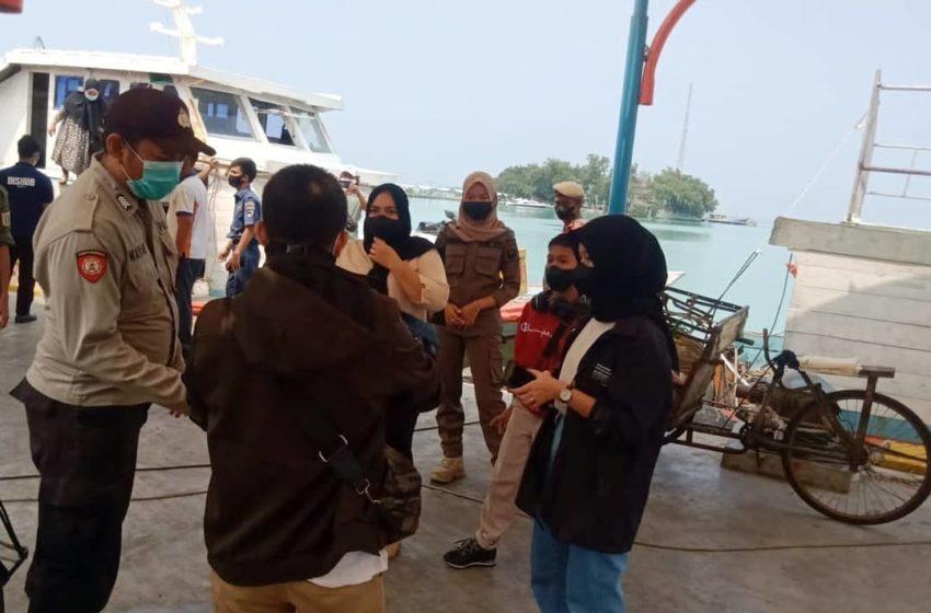 Pertahankan Zona Hijau Covid-19 di Pulau Harapan, Polsek Kep Seribu Utara Terus Ketatkan ProKes 5M