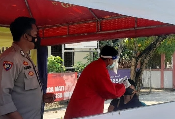 Tim KTJ Pulau Pari Cegah Sebaran Covid-19